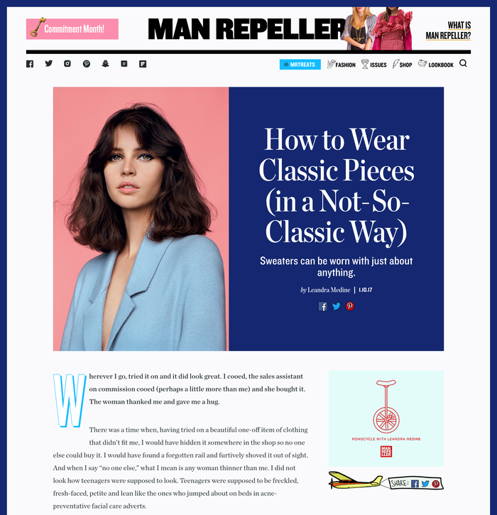 Feature Article Page