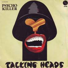"Talking Heads – ""Psycho Killer"" French single cover"