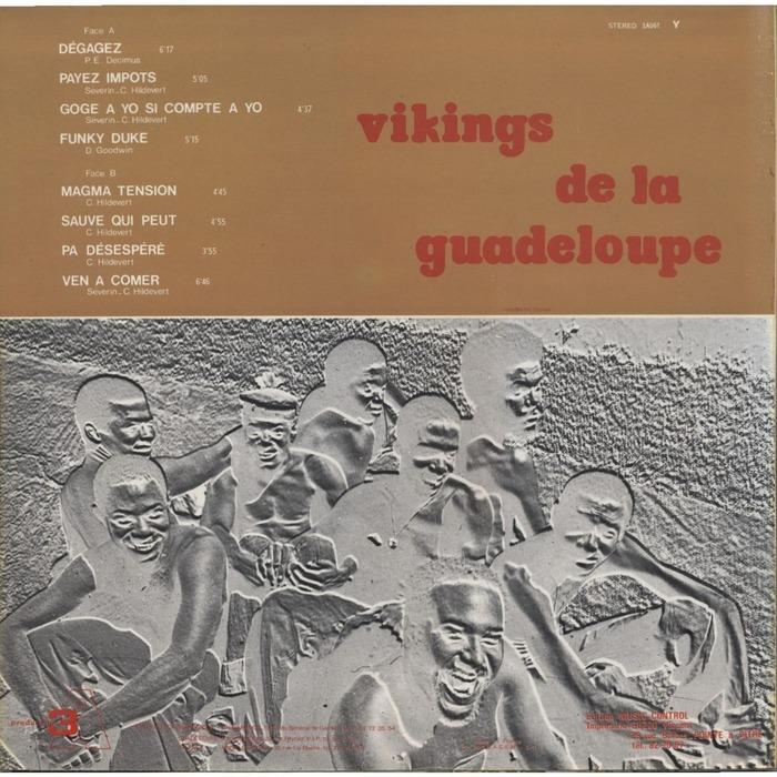 Vikings de la Guadeloupe – Dégagez Payez Impots album art 2