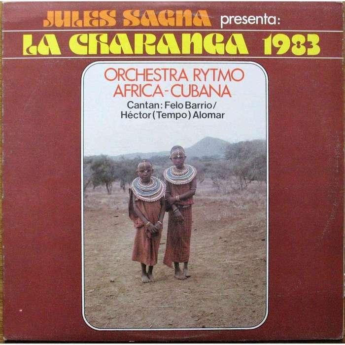 Orchestra Rytmo Africa-Cubana — Jules Sagna presenta: La Charanga 1983 album art 1