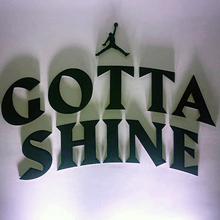 Nike Jordan Gotta Shine event & sticker