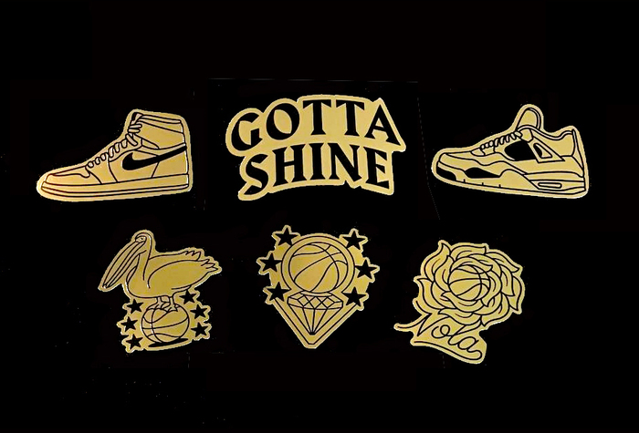 Nike Jordan Gotta Shine event & sticker 2