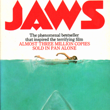 <cite>JAWS</cite> by Peter Benchley, Pan editions