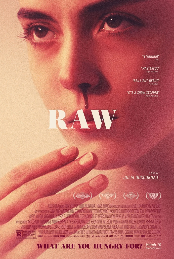 Raw (2016) movie poster