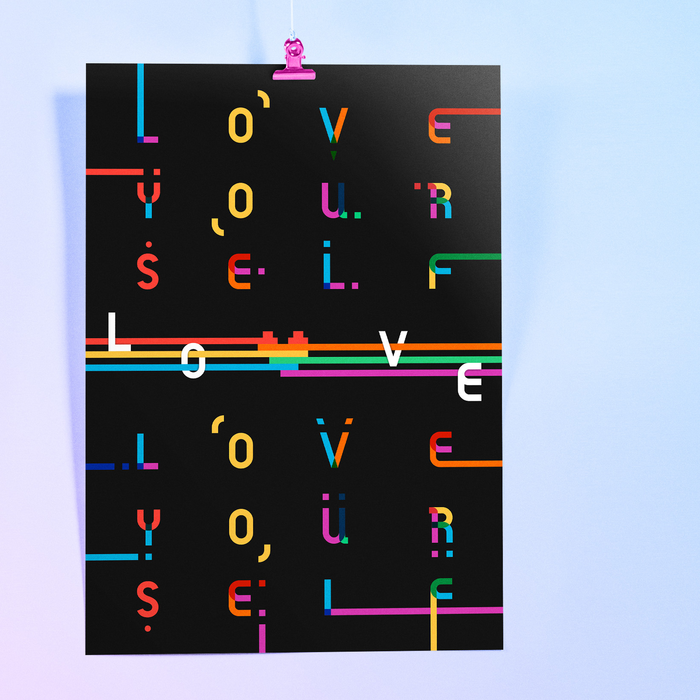 """""""Love Yourself"""" poster 1"""