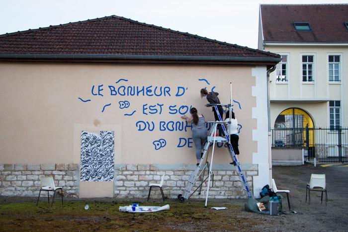 """""""Le bonheur"""" fresco 4"""