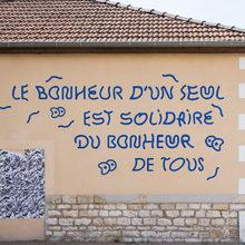 """""""Le bonheur"""" fresco"""