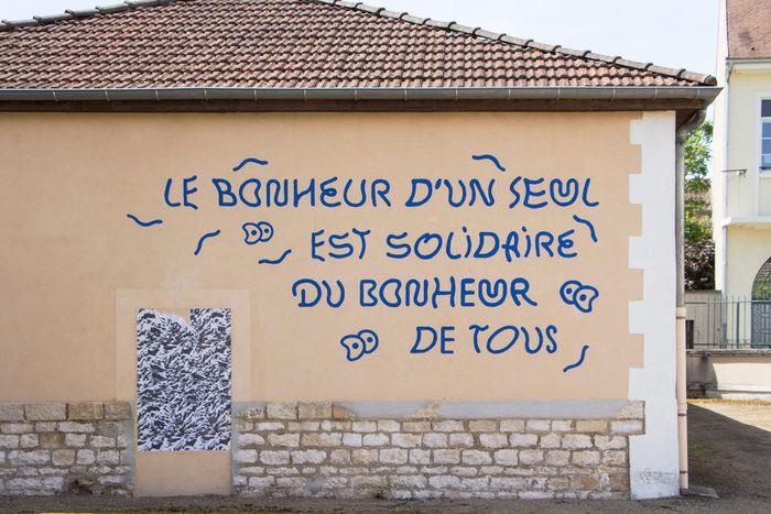 """""""Le bonheur"""" fresco 1"""