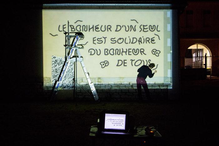 """""""Le bonheur"""" fresco 2"""