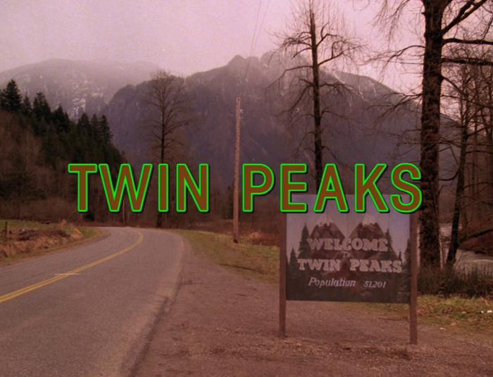Twin Peaks opening titles 1