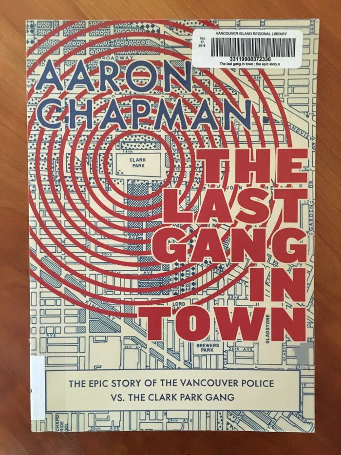 The Last Gang in Town by Aaron Chapman