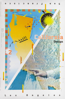 <cite>California Design 2 – AIGA </cite>poster