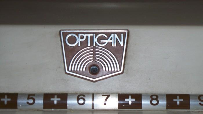 Mattel Optigan logo 1