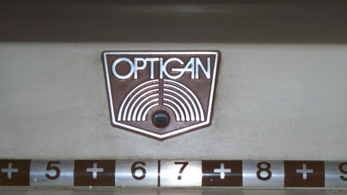 Mattel Optigan logo 1