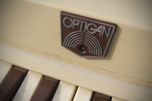 Mattel Optigan logo