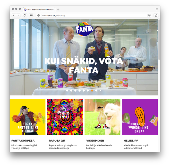 Fanta international websites 4