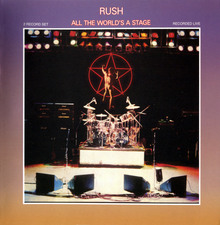 <cite>All The World's a Stage </cite>– Rush