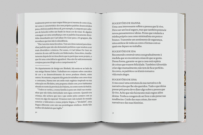 Text spread in the Portuguese edition. Type set in Lyon Text.