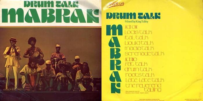 Mabrak – Drum Talk album art 2