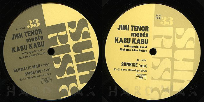 Jimi Tenor meets Kabu Kabu – Sunrise 2