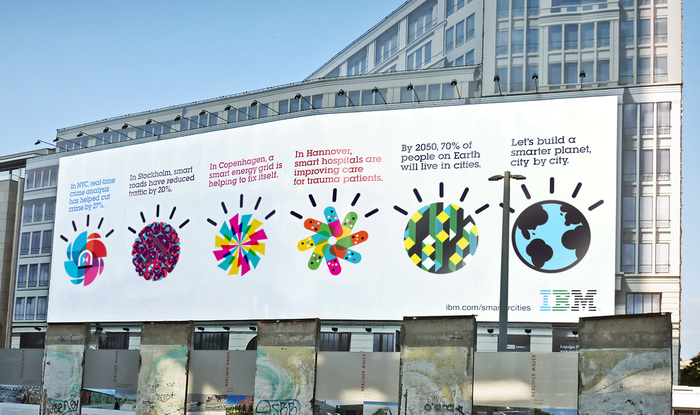 """Designing a smarter planet"", IBM campaign 3"