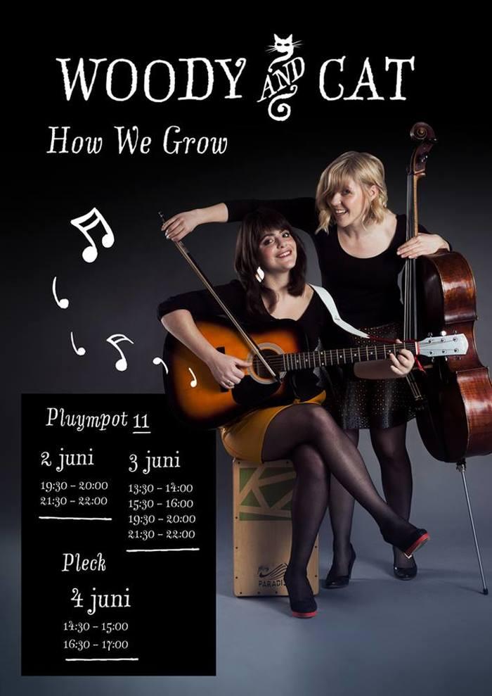 Woody & Cat – How We Grow album art 4
