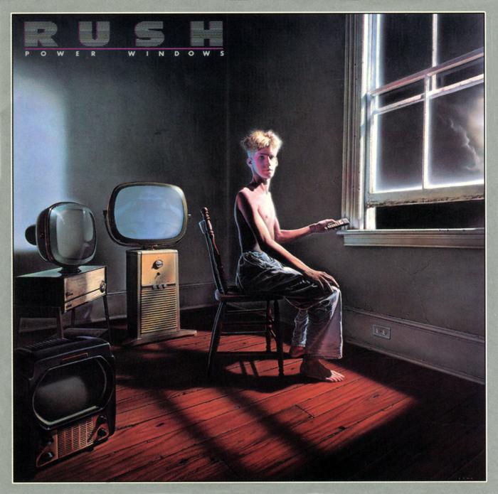 Rush – Power Windows album art