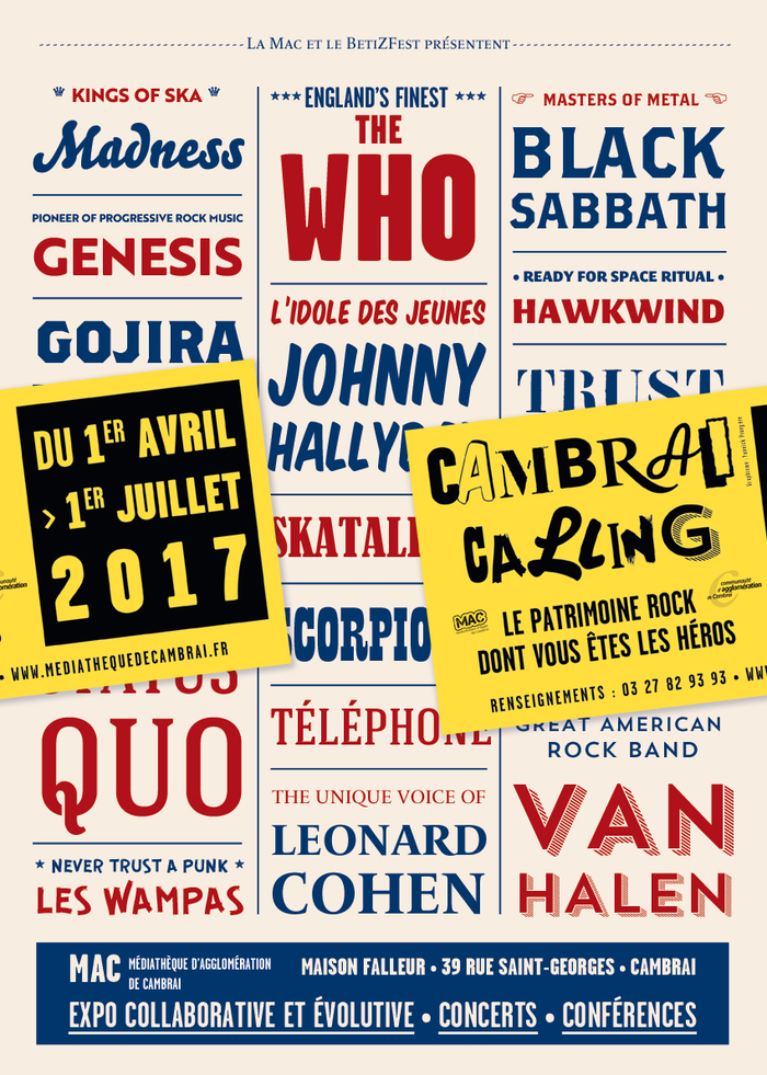 Cambrai Calling 1