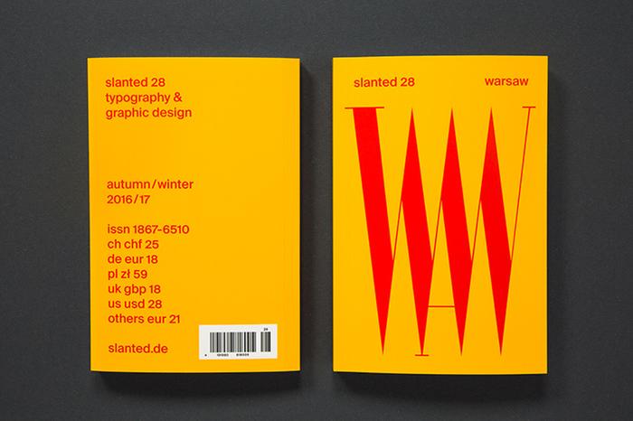 Slanted magazine identity 14