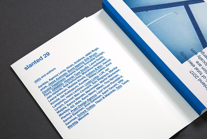 Slanted magazine identity 21