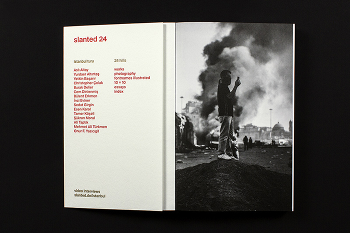 Slanted magazine identity 27