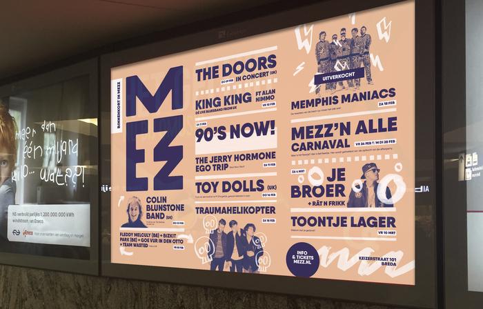 Mezz Concerts & Dance rebranding 4