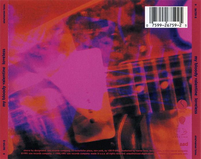 My Bloody Valentine – Loveless album art 2