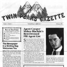 <cite>Twin Peaks Gazette</cite> memoraphilia