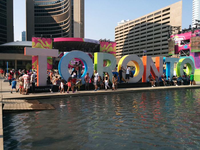 """Toronto"" sign 3"