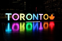 """Toronto"" sign"