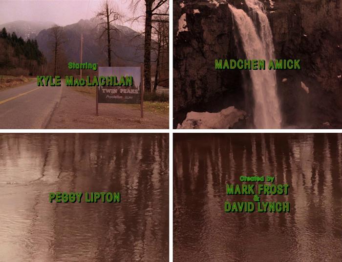 Twin Peaks opening titles 2