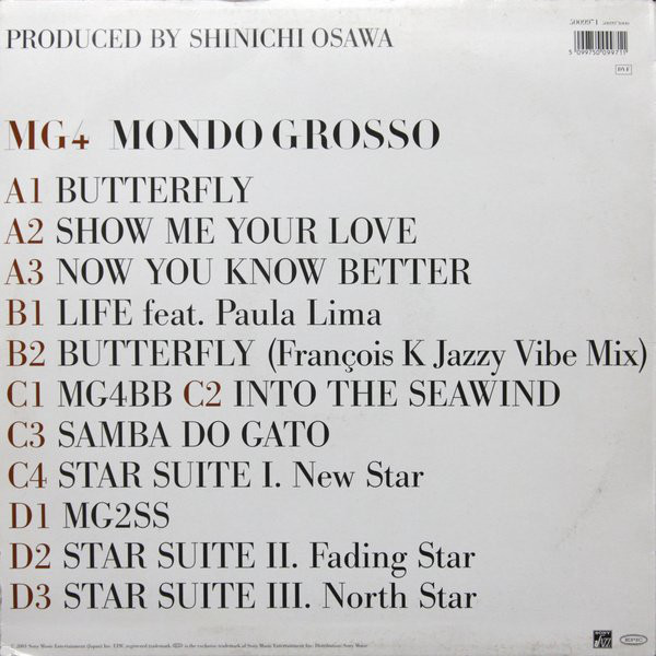 MG4 back cover – adaptation as used for the UK vinyl release, with Bauer Bodoni