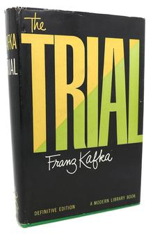 Franz Kafka – <cite>The Trial</cite>, Modern Library Definitive Edition cover