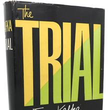 Franz Kafka – <cite>The Trial</cite>, 1956 Modern Library Definitive Edition cover
