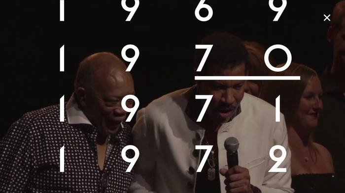 Montreux Jazz Festival – interactive video 5
