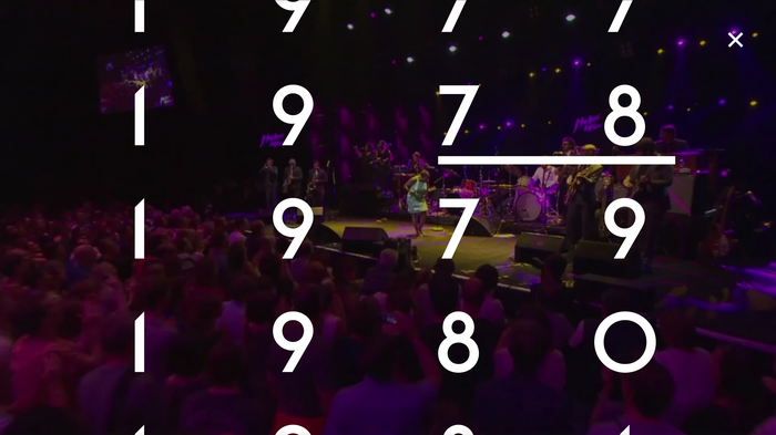 Montreux Jazz Festival – interactive video 6