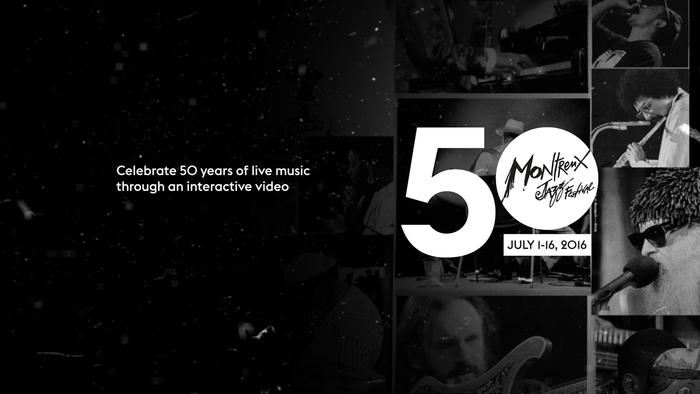 Montreux Jazz Festival – interactive video 2