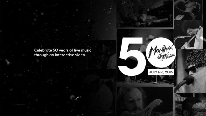 Montreux Jazz Festival – interactive video 2