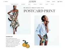 J.Crew website (2017)