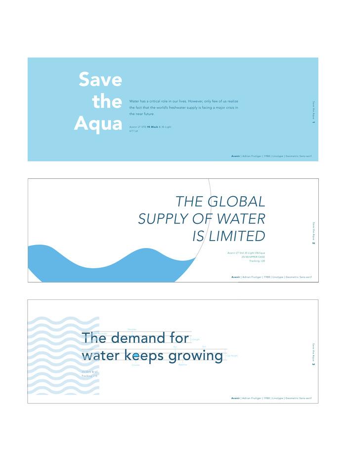 Save the Aqua 1