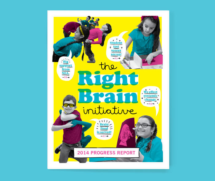 The Right Brain Initiative annual report 1
