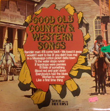 <cite>Good Old Country &amp; Western Songs </cite>album art