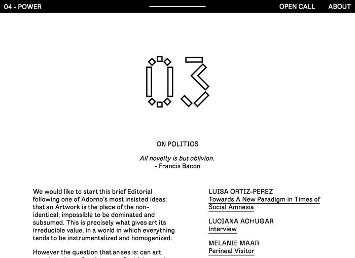 Entkunstung: Open Call 4