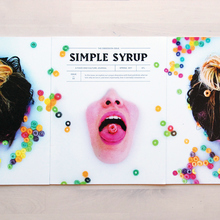 """<cite>Simple Syrup</cite> magazine, issue 3 """"Obsessions"""""""